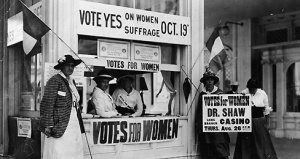Suffragists Campaign For The Vote in New Jersey