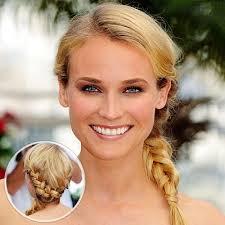 white braids