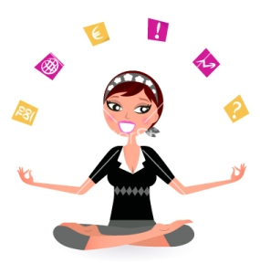 business-woman-juggling-work-vector-662196
